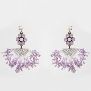 Tasel Earrings with Swarovski crystals